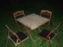 Laud ja 4 tooli
